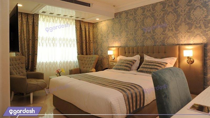 اتاق دو تخته دبل هتل سیمرغ