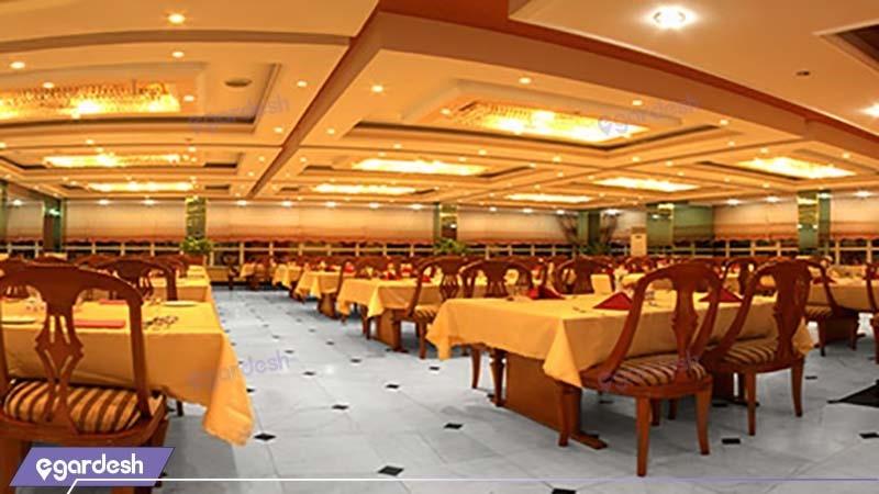 رستوران هتل سیمرغ