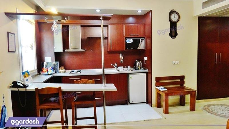 سوئیت یک خوابه هتل ذآپارتمان تاوریژ