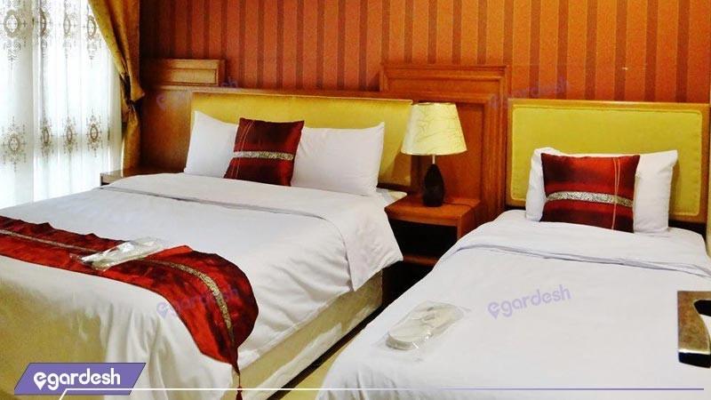 اتاق سه تخته هتل آپارتمان تاوریژ