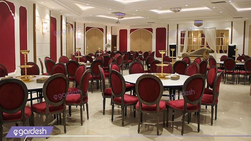 سالن اپال هتل ویستریا
