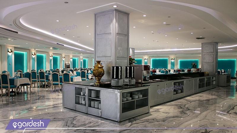 رستوران هتل ویستریا
