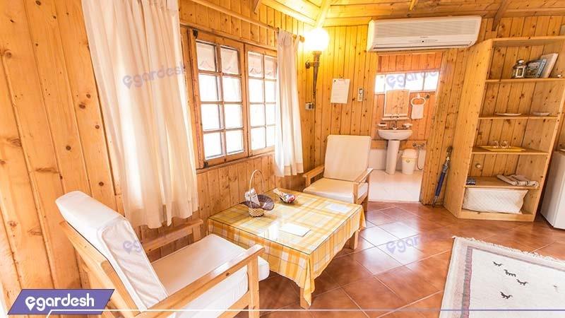 کلبه توسکا هتل چالدره