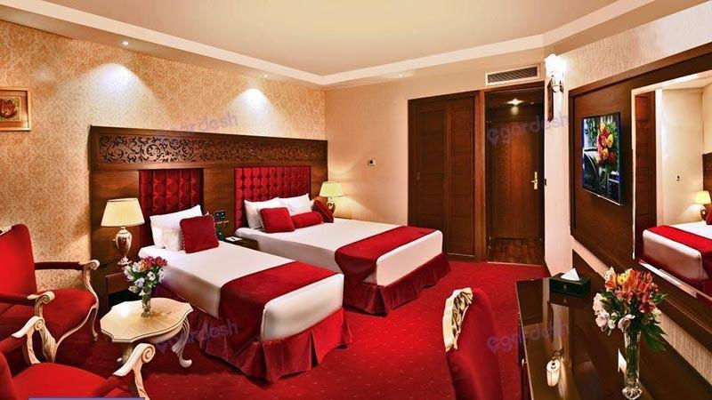 اتاق سه تخته هتل الماس نوین