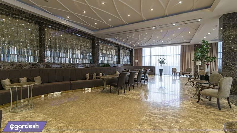 لابی بار هتل آنا ارومیه