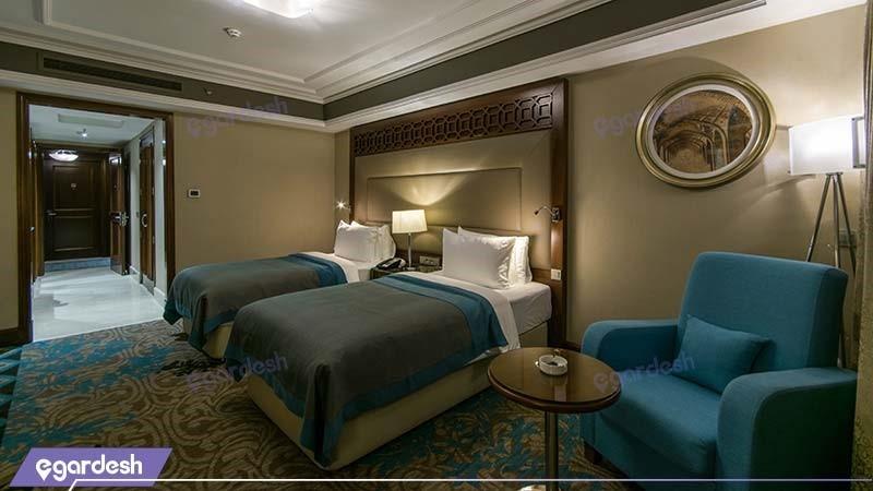 اتاق دو تخته هتل آنا ارومیه