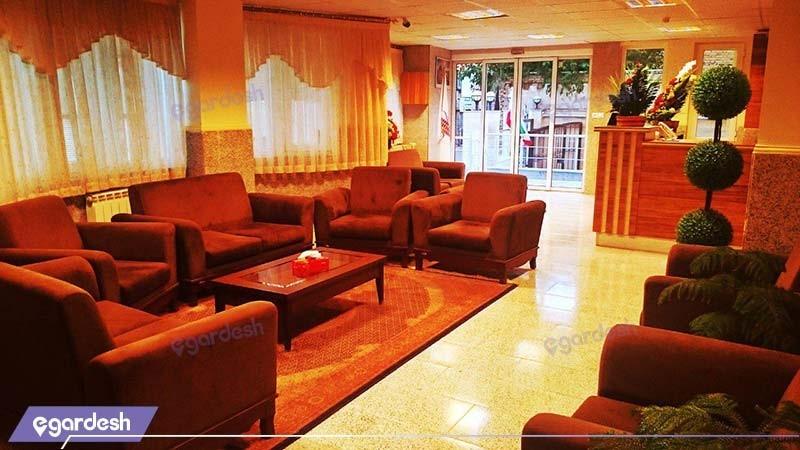 لابی هتل ایران پارک