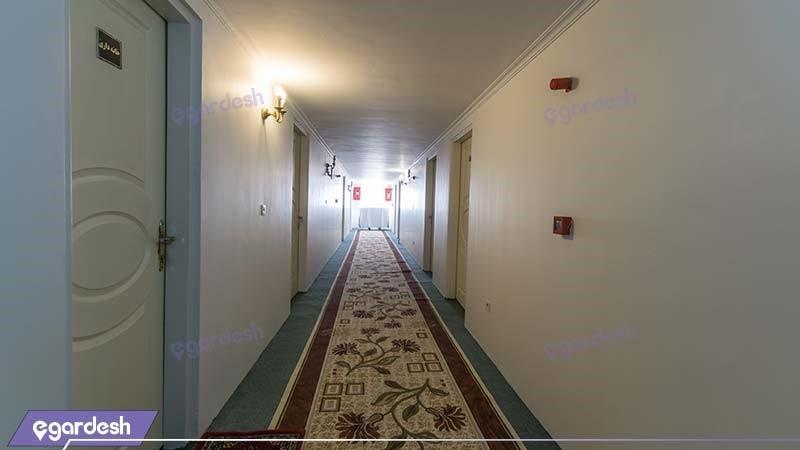 راهرو هتل جهانگردی خوی