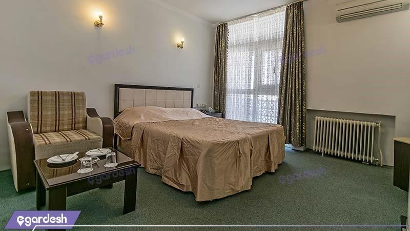 اتاق دبل هتل جهانگردی خوی