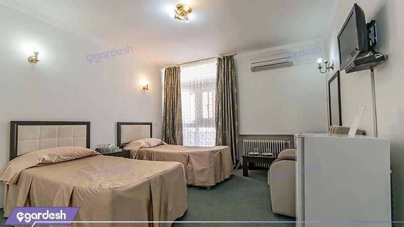 اتاق دو نفره هتل جهانگردی خوی