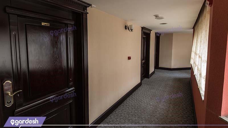 راهرو هتل بین المللی پارک
