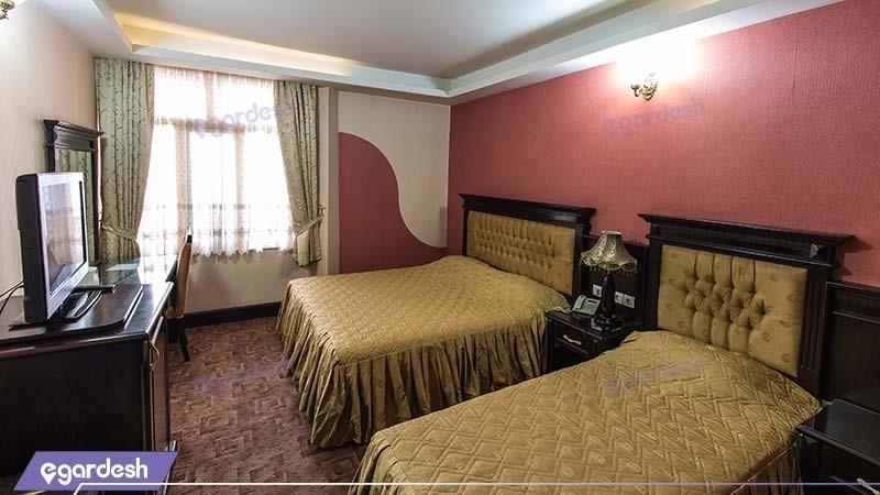 اتاق سه تخته هتل بین المللی پارک