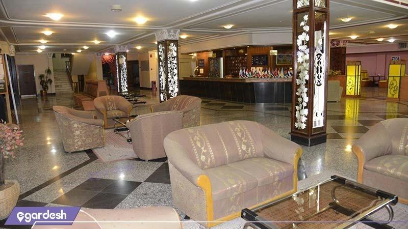 لابی هتل ساحل