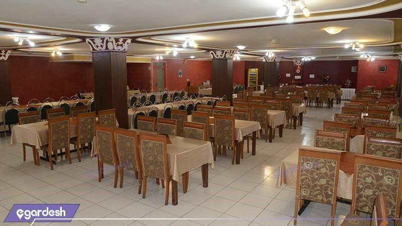 رستوران هتل ساحل