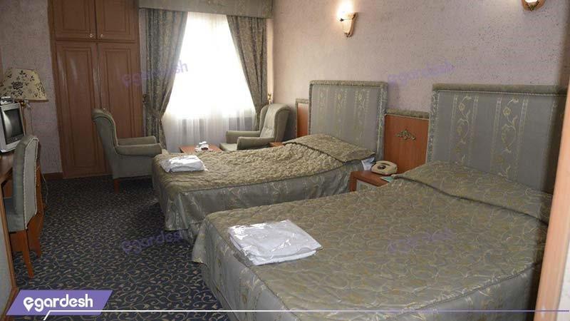 اتاق دو تخته هتل ساحل