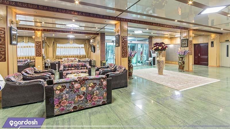 لابی هتل جهانگردی ارومیه
