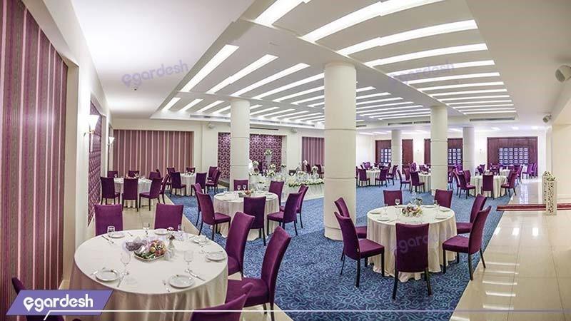 سالن پذیرایی هتل ارگ جدید یزد