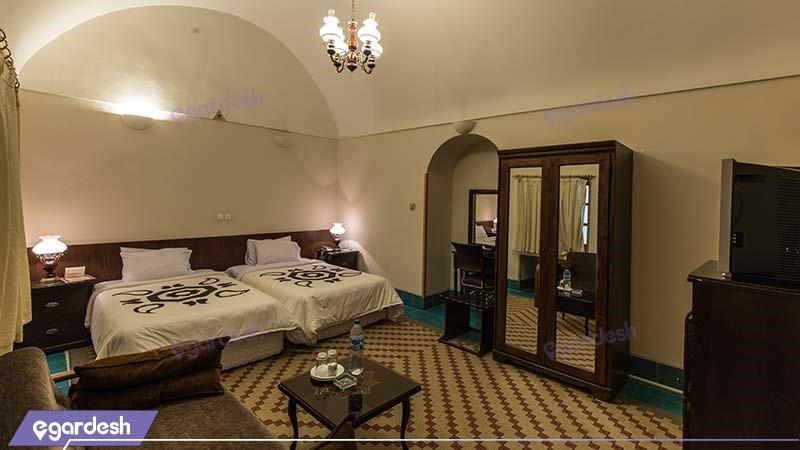 اتاق دو تخته هتل داد