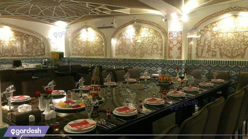 رستوران هتل فاضلی