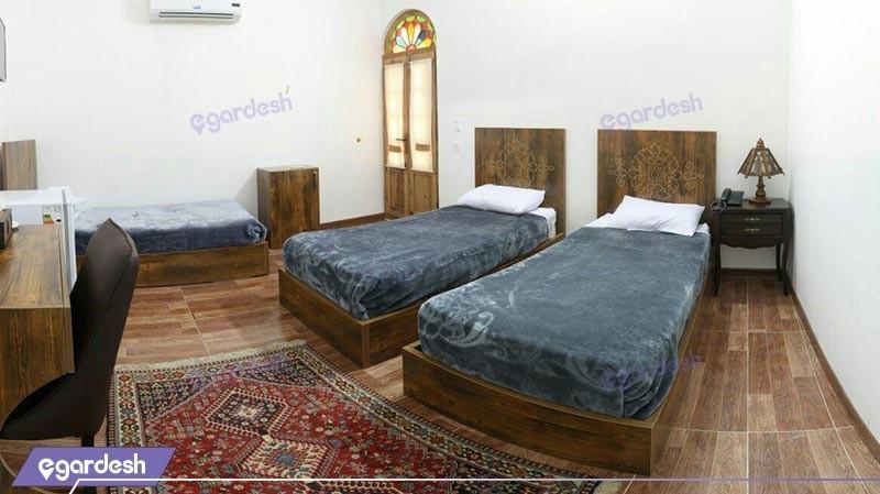 اتاق سه تخته هتل فاضلی