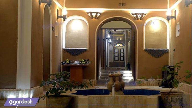 ورودی هتل سنتی خوان دوحد
