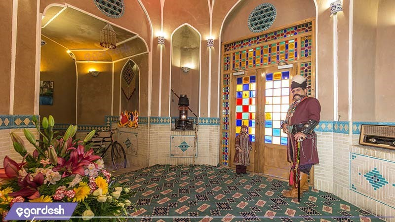 لابی هتل باغ مشیرالممالک