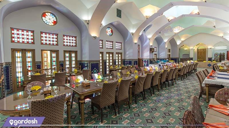 رستوران هتل باغ مشیرالممالک