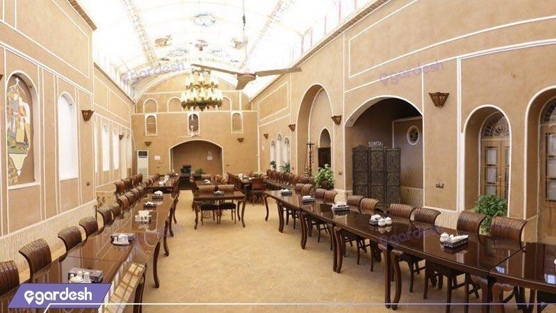 رستوران هتل باغ پهلوان پور