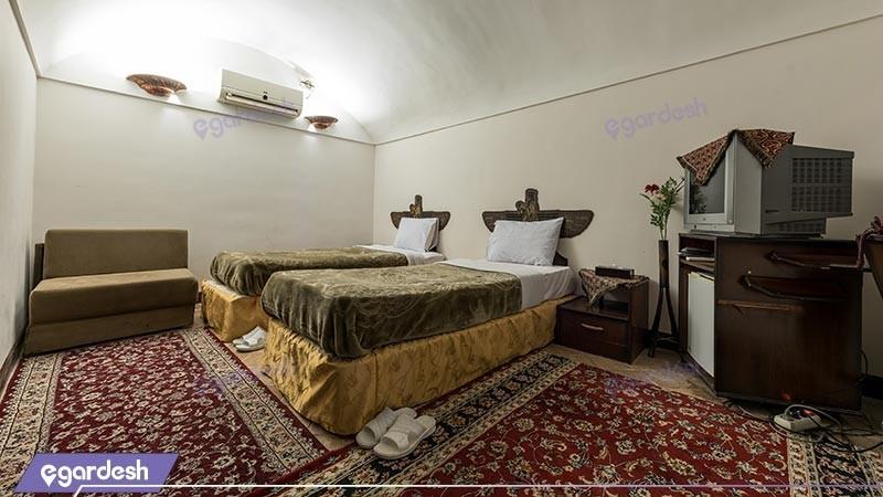 اتاق دو تخته توئین هتل سنتی رز