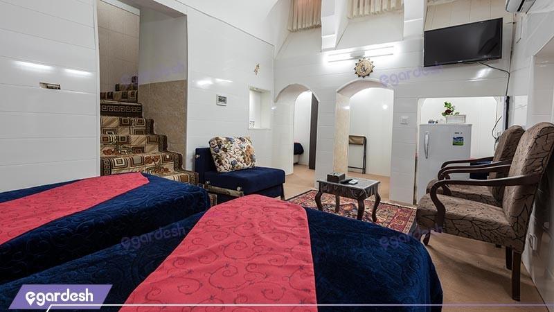 اتاق چهار تخته هتل سنتی رویای قدیم