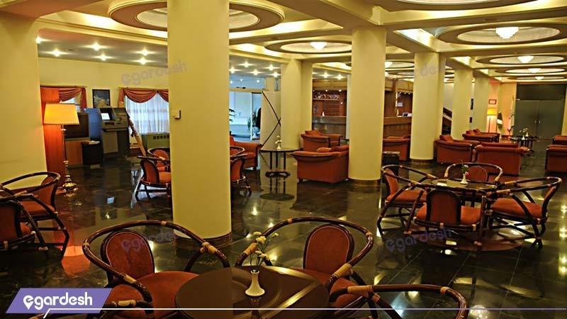 کافی شاپ هتل جهانگردی یزد