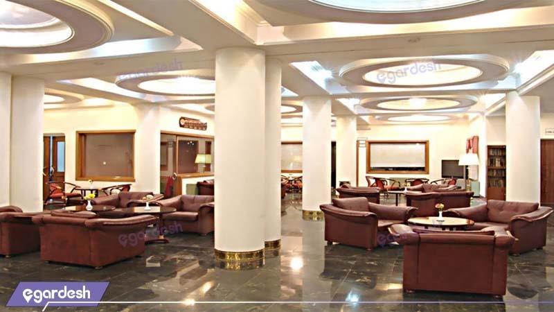 لابی هتل جهانگردی یزد