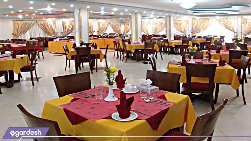 رستوران هتل جهانگردی یزد