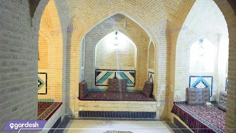محوطه نشیمن هتل والی