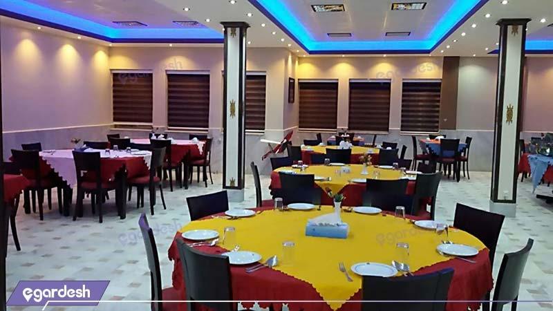 رستوران مجتمع جهانگردی زنجان
