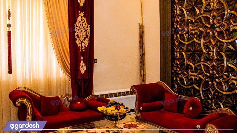 لابی هتل قصر