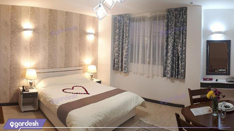 اتاق دابل هتل آفتاب