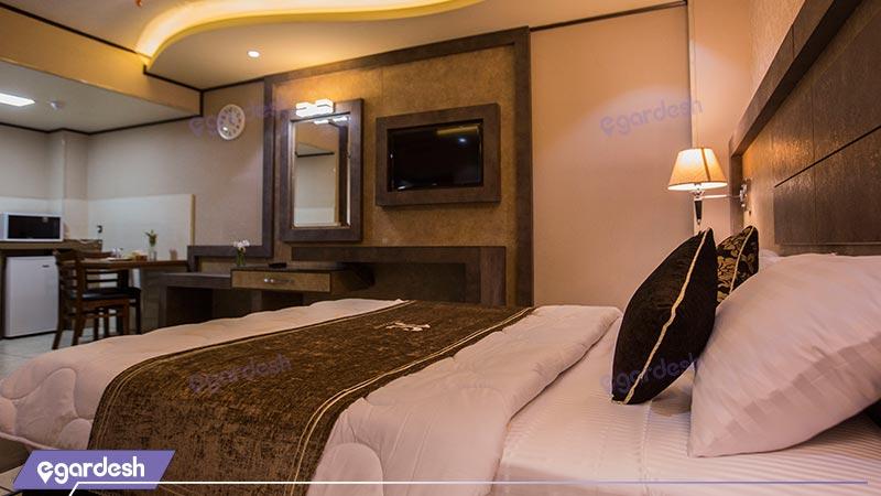 اتاق دو تخته هتل باران