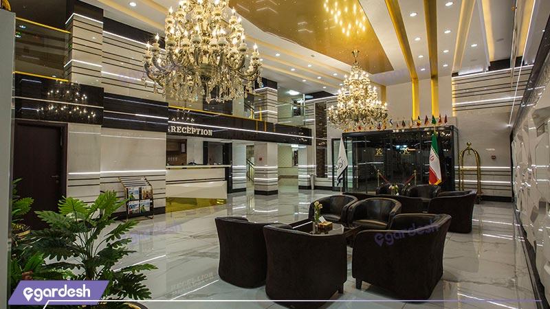 لابی هتل باران