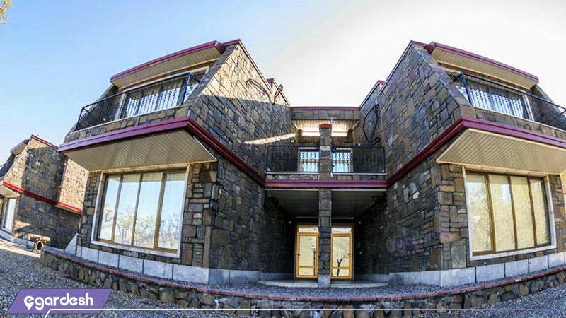 نمای سوئیت هتل عباس آباد