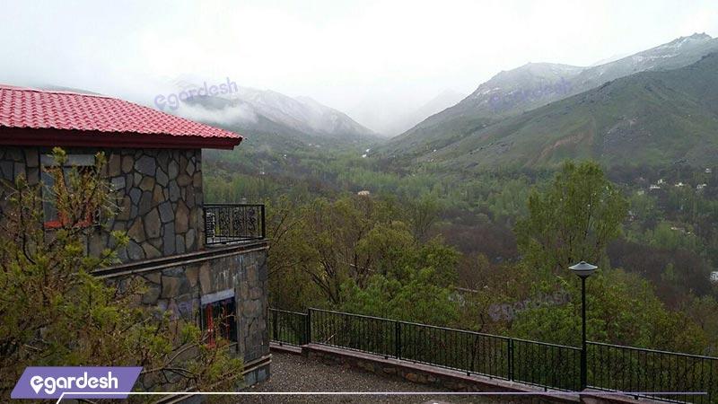نمای هتل عباس آباد