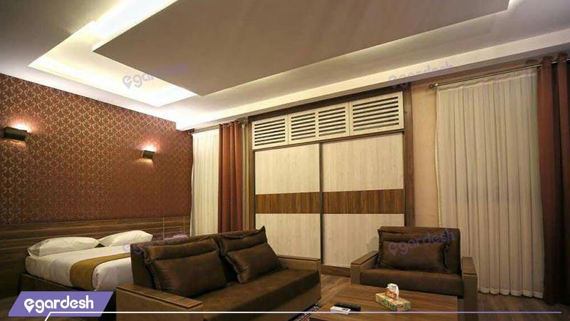 فضای داخلی سوئیت هتل کتیبه