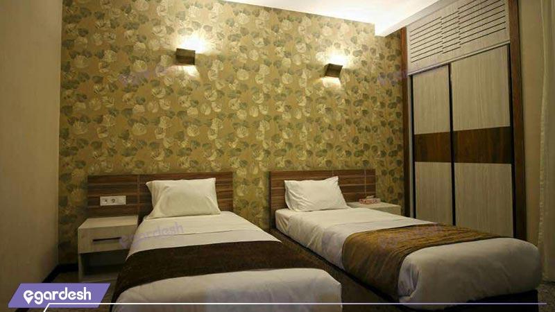 سوئیت یک خوابه دو نفره هتل کتیبه