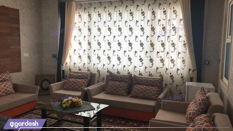 فضای داخلی هتل ارگ محتشم