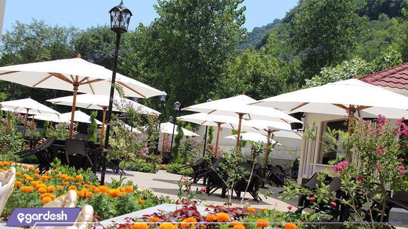 کافه باغچه هتل رسپینا