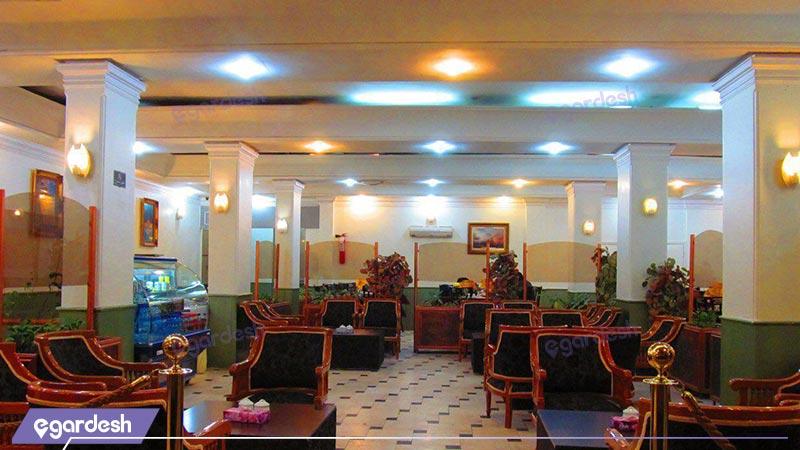 کافی شاپ هتل امیر