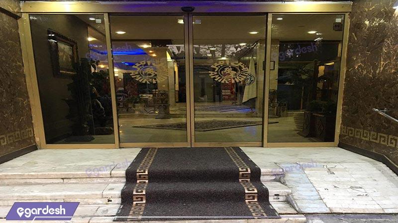 ورودی هتل امیر