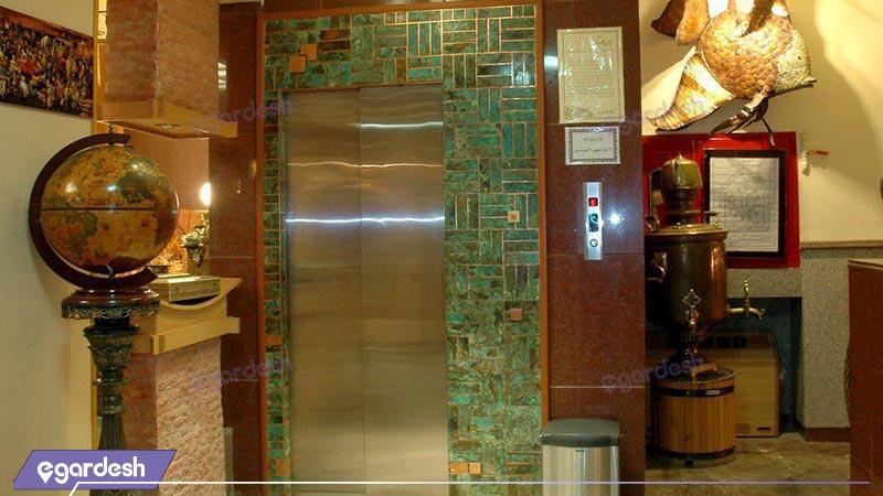 آسانسور هتل آپارتمان ملل