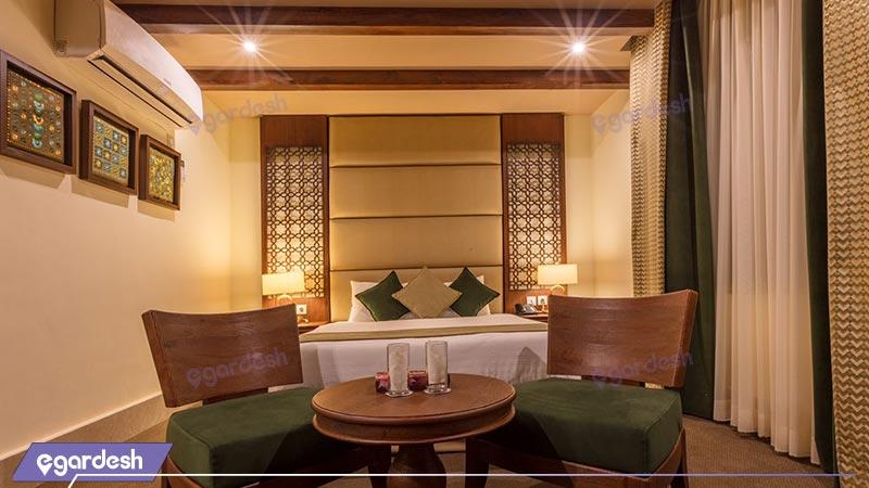اتاق دابل هتل بوتیک ایرمان