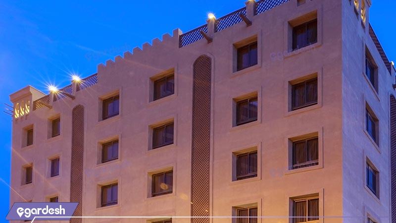 نمای ساختمان هتل بوتیک ایرمان